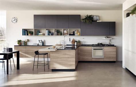 cuisine en bois moderne  sobre