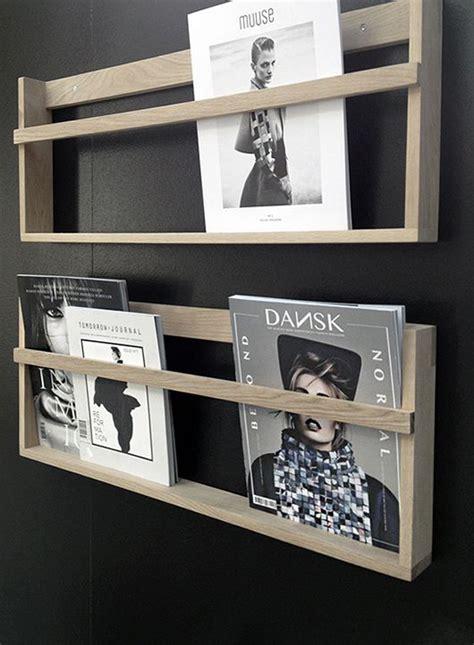 genius diy magazine rack ideas home design  interior