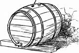 Clipart Whisky Beer Barrel Drawing Wooden Webstockreview Getdrawings Clipground sketch template