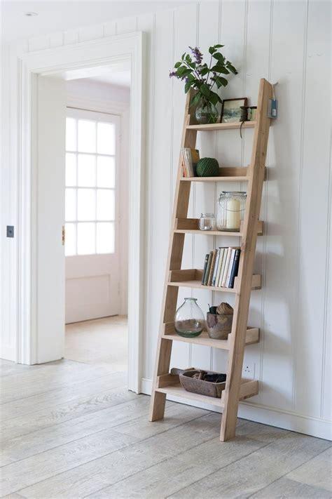 ladder shelves ideas  pinterest ladder