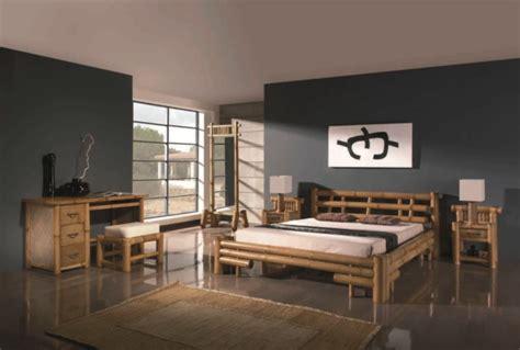 chambre en bambou chambre decoration japonaise idées de décoration et de
