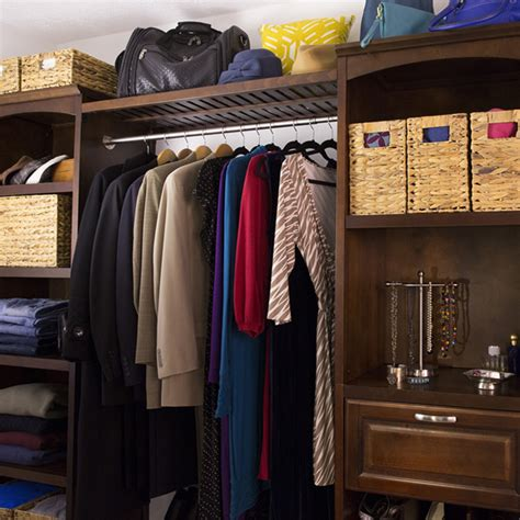 Install A Wood Wall Organizer In Your Closet