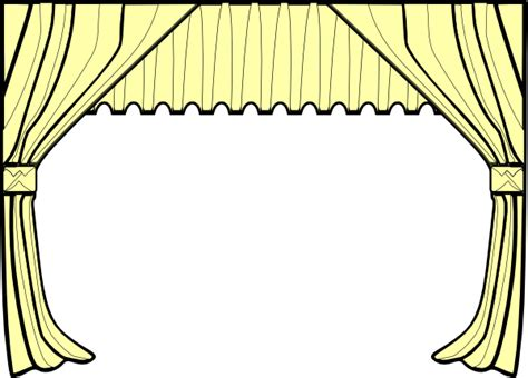 Theater Curtain Clipart