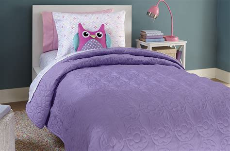 Solid Color Quilts And Coverlets by Crb Medallion Solid Quilt Purple Home Bed Bath