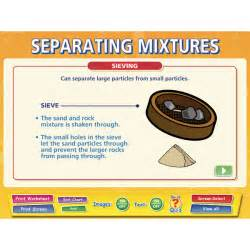 Separating Mixtures Worksheet