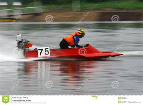 Driving Boat In Dream by Motorboat Race Stock Image Image 33835121