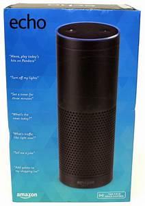 Amazon Echo w/ Far-Field Voice Control, Wi-Fi, Bluetooth ...