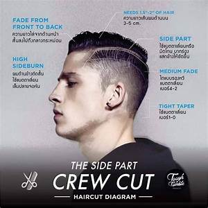 Side Part Crew Cut