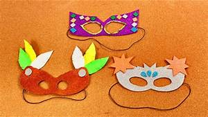 Máscaras Para Carnaval - Manualidades Fáciles y Divertidas ...