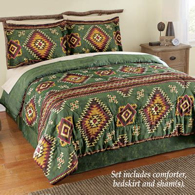 lake tahoe aztec comforter set from collections etc
