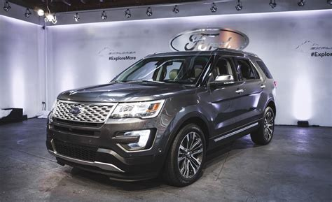 ford explorer 2016 ford explorer get facelift and technical improvements
