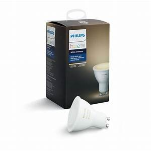 Philips Smart Home : philips hue white ambiance gu10 dimmable led smart flood light 464677 the home depot ~ Frokenaadalensverden.com Haus und Dekorationen