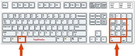 Keyboard Shortcuts To Make Symbols Using Alt Key