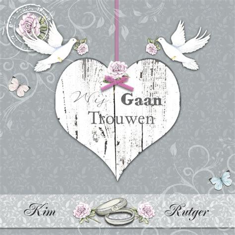 trouwkaart met witte duiven trouwkaarten kaartje2go