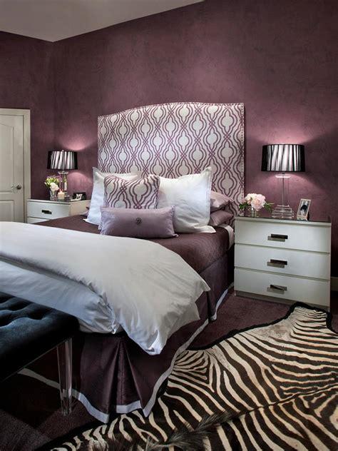 chambre violet chambre gris aubergine design de maison