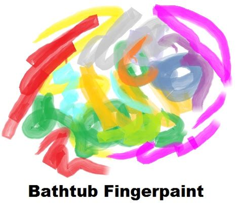 Finger Paint Bath Soap by Bathtub Fingerpaint Recipe