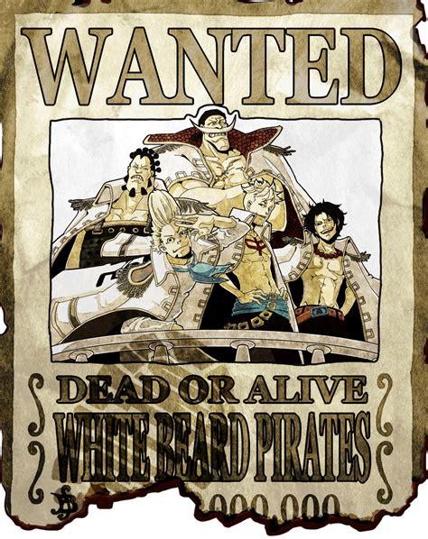 whitebeard pirates bounty  piece fan art