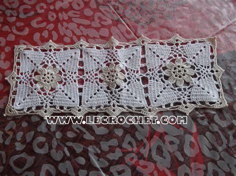 napperon rectangulaire napperon rectangulaire au crochet napperon crochet napperon au crochet