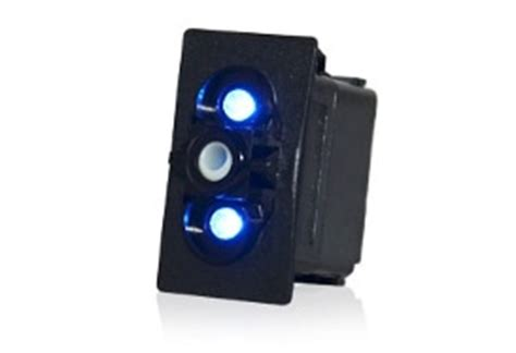 illuminated rocker switches contura  laser etched