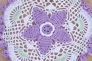 ravelry columbine doily pattern  gemma owen