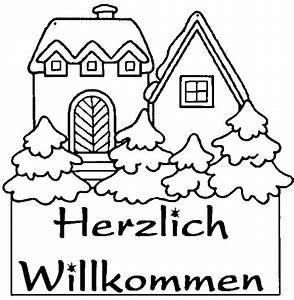 Herzlich Willkommen Bilder Zum Ausdrucken : ausmalbild herzlich willkommen printable coloring page for kids ~ Eleganceandgraceweddings.com Haus und Dekorationen