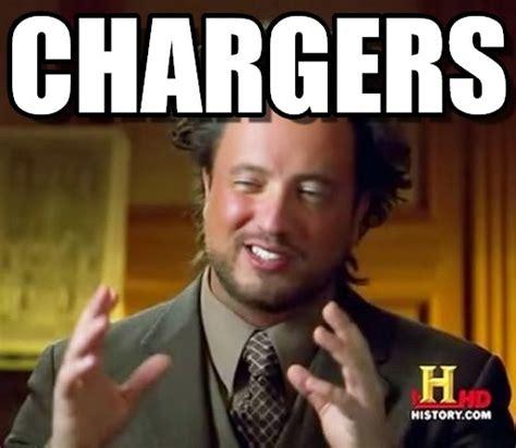Chargers Memes - chargers ancient aliens meme on memegen