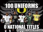 Oregon Ducks Meme - oregon ducks