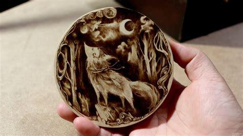 woodburning art pyrography  youtube