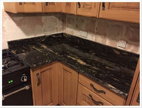 Titanium Black Granite   Denver Shower Doors & Denver