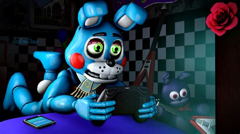 During Toy Bonnie's Free Time... By Talondang On Deviantart