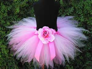 Girls Tutu Skirt - Pink Tutu - Pink Powder Pixie - 11'' Sewn Pixie Tutu - Available in girls sizes 6 to 8
