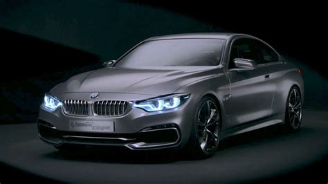 bmw concept  series coupe youtube