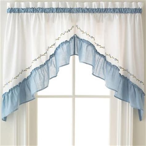 jcpenney swag curtains jcpenney valances and swags low wedge sandals