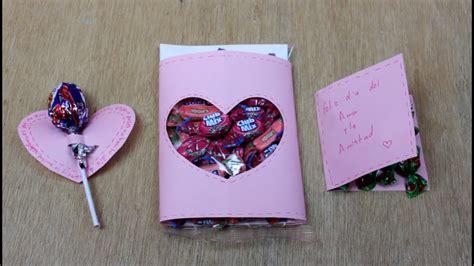 como hacer una tarjeta creativa mi mejor amiga carta en forma de con papel youtube