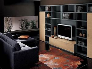 Best design modern living room tv unit decoseecom for Tv unit design living room