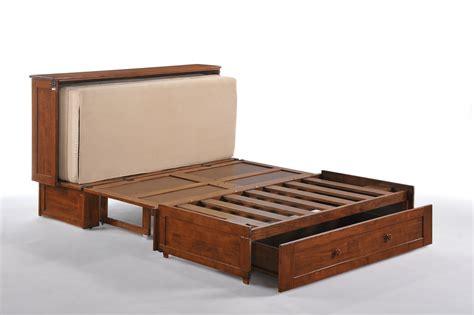 night day clover murphy cabinet bed futon dor