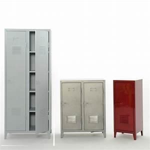 Armoire Vestiaire Metal : vestiaire metal design ~ Edinachiropracticcenter.com Idées de Décoration