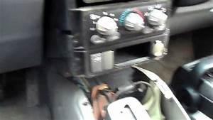 Pontiac Aztek Stereo Removal