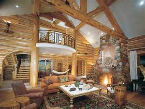 log cabin homes interior log cabin home decorating ideas With log home interior design ideas