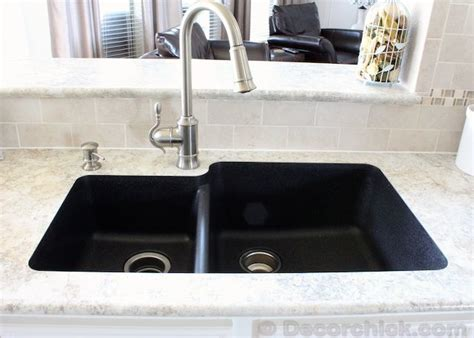 quartz countertop with undermount sink karran quartz sink kitchen dreams pinterest