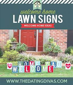 114 best images about army wife on pinterest soldiers With welcome home yard letters