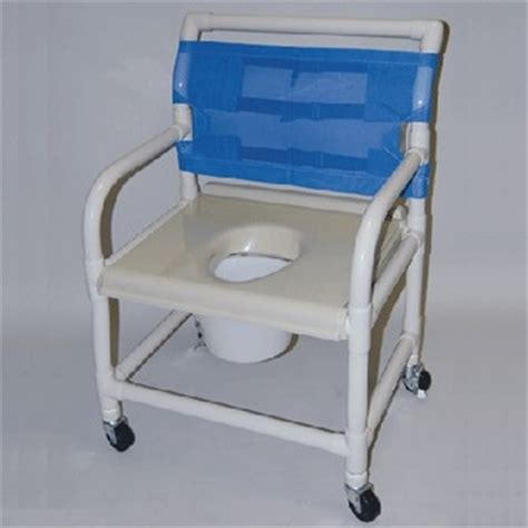 Pvc Commode Chair by 24 Quot Pvc Shower And Commode Chair Wide Healthline