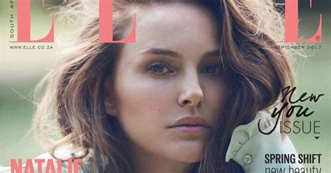 Natalie Portman For Elle South Africa September
