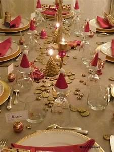 Table De Fete Decoration Noel : sp cial f tes table de no l d 39 or ou table de no l d ~ Zukunftsfamilie.com Idées de Décoration