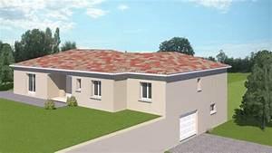 Type De Sol Maison : construction 86 fr plan maison plain pied traditionnel de type 5 ~ Melissatoandfro.com Idées de Décoration