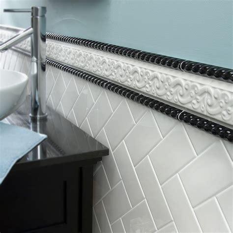 bathroom tile trim ideas 8 stylish bathroom tile ideas