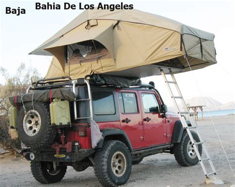 jeep wrangler unlimited custom roof top tent  oiiio