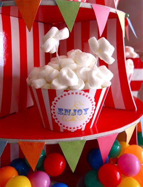 Oh Sugar Events Big Top Birthday