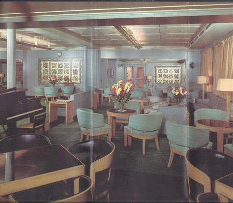 Ss America Interior Pictures  Ss America, Ss United