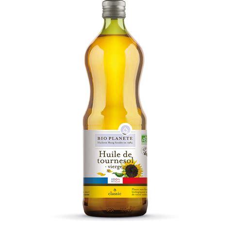 huile de cuisine huile de tournesol gamme produits bio planète